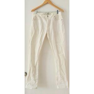 Topman White Denim Jeans